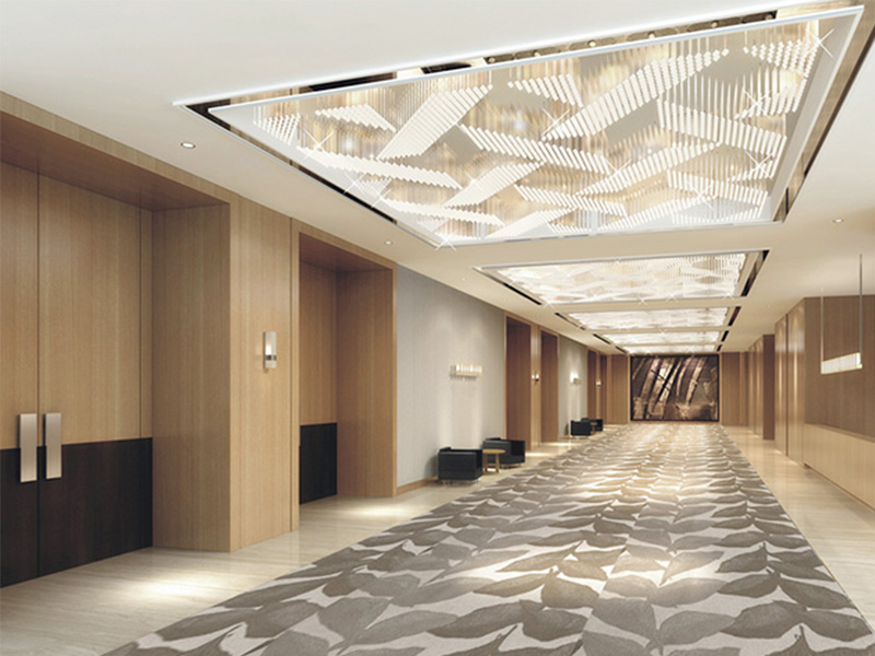 Application in suspended ceiling